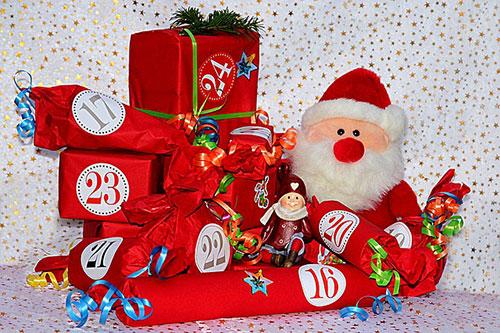 Julklappar till kalender