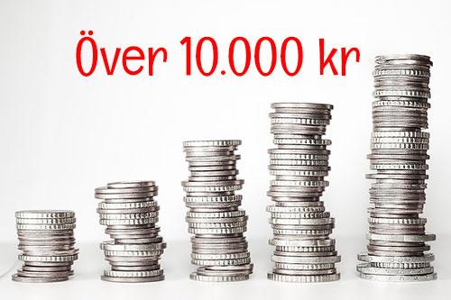 Over 10000 kr