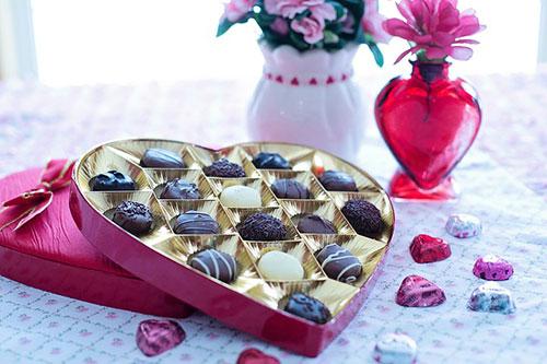 Presentask choklad