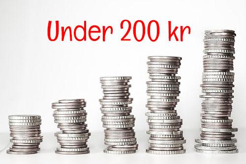 Under200kr