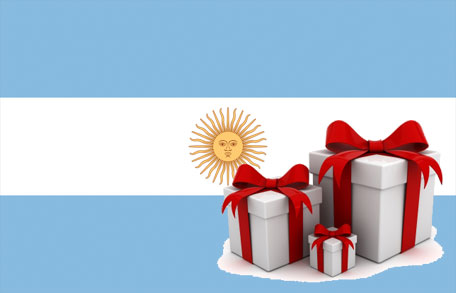 Argentinas flagga