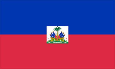 Haitis flagga