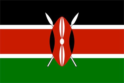 Kenyas flagga