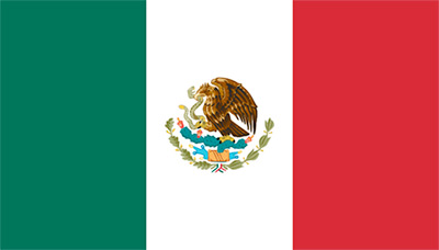 Mexicos flagga