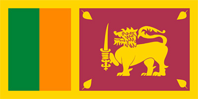 Sri lankas flagga