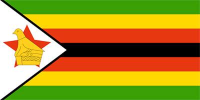 Zimbabwes flagga