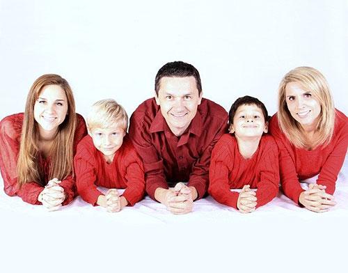 Julfilmer familjen