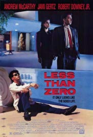 Movie less than zero